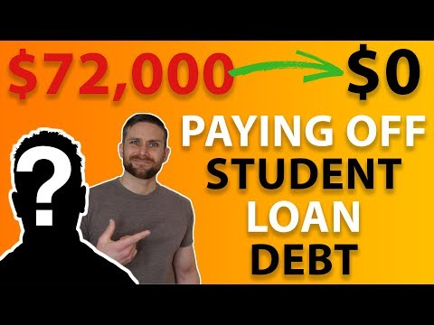 Paying Off Student Loan Debt | $72,000 Debt Free Journey (INTERVIEW)