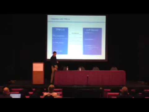 Trusted Computing Conference 2013: Privacy and Accountability in Identity Systems