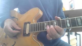 lazy poker blues guitar lesson