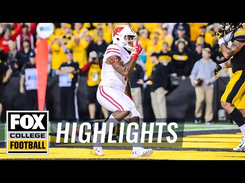 Iowa vs. Wisconsin | FOX COLLEGE FOOTBALL HIGHLIGHTS
