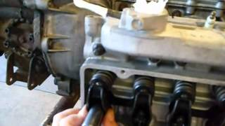 Replacing a Corvair Head/Cold valve adjustment/compression c
