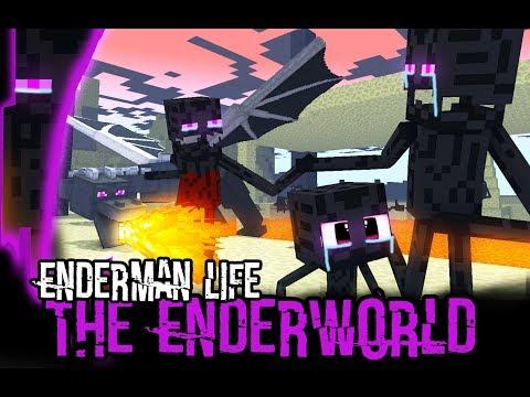 Monster School : Enderman's Life (A Very Sad Story) - Minecraft Animation