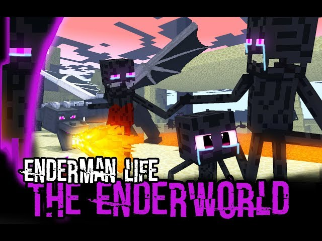 Monster School : Endermans Life (A very sad story) - Minecraft Animation