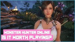 Is Monster Hunter Online Worth Playing In 2018? A MHO MMORPG Review!