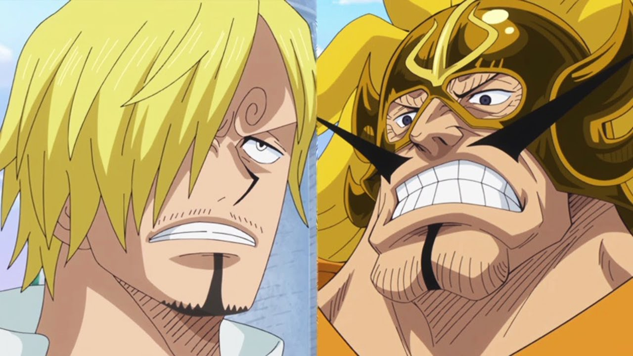 one piece episode 793 review sanji vs judge vinsmoke a battle between father and son. Black Bedroom Furniture Sets. Home Design Ideas