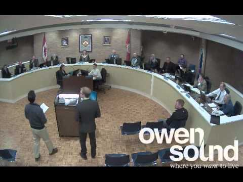 City of Owen Sound March 17, 2014 Council Meeting