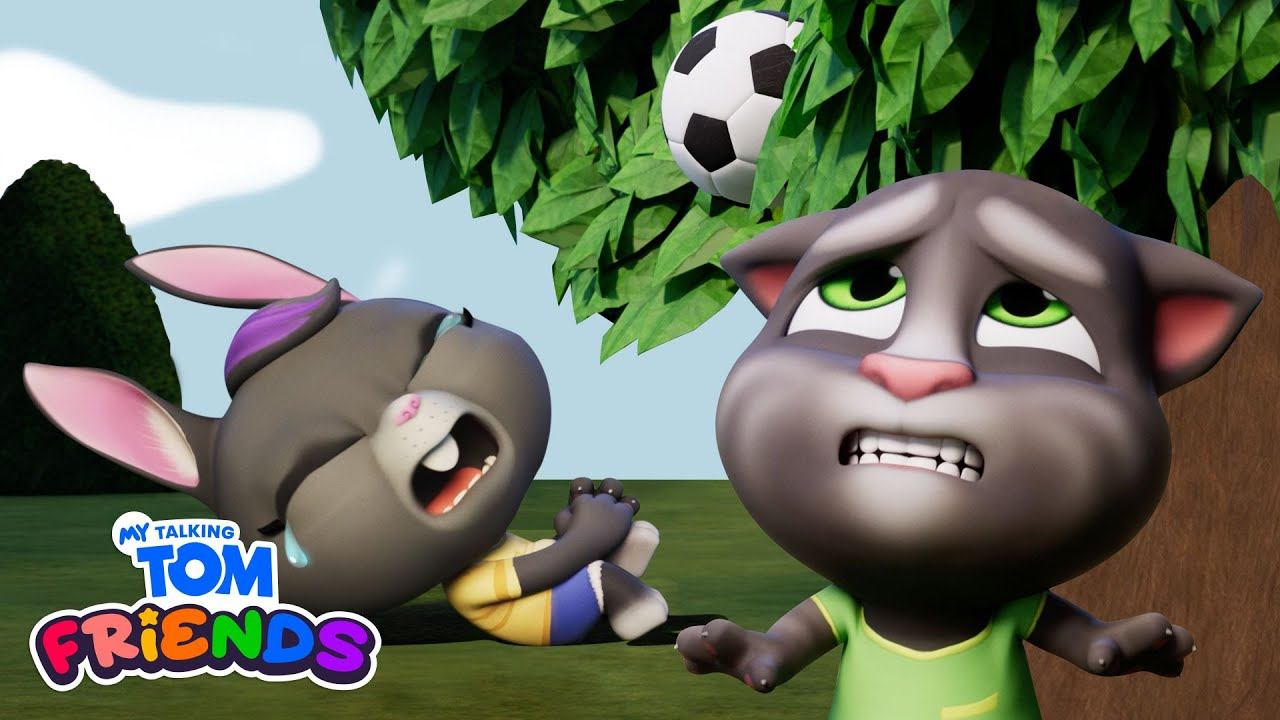 We Lost Our Ball! ⚽🌳My Talking Tom Friends #Shorts