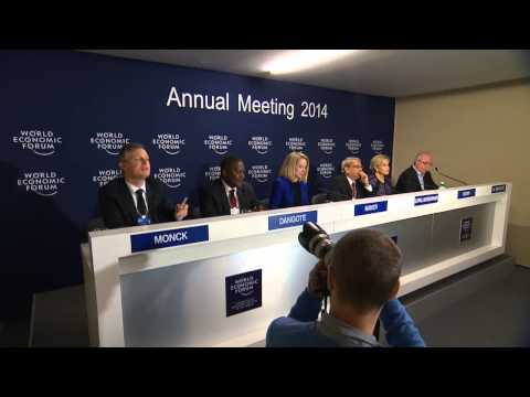 Davos 2014 - Annual Meeting 2014 Co chair's Press Conference