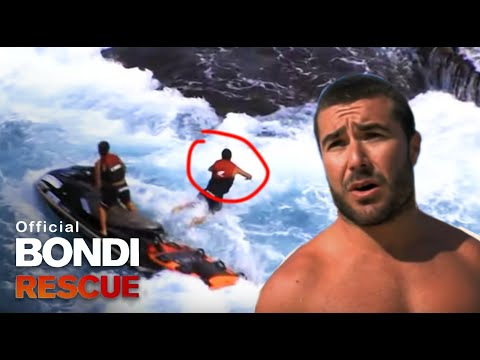 Lifeguards Rescue Young Girl Close To Death At Bondi Beach Youtube