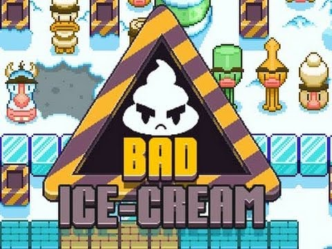 Iori en 8bits Jugando ( Bad IceCream )