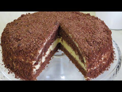 ШОКОЛАДНЫЙ ПОСТНЫЙ ТОРТ НЕЖНОЕ ЧУДО! Торт на ПРАЗДНИК в ПОСТ! КРЕМ ВАС ОЧЕНЬ УДИВИТ!