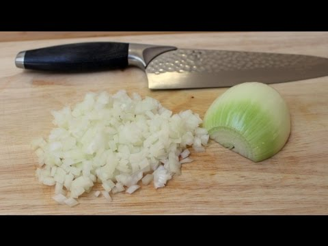 Onion Dice without Parallel Cut