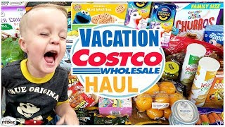 FINALLY on VACATION...☀️The LAST Florida Grocery Haul ☀️ Target and Costco