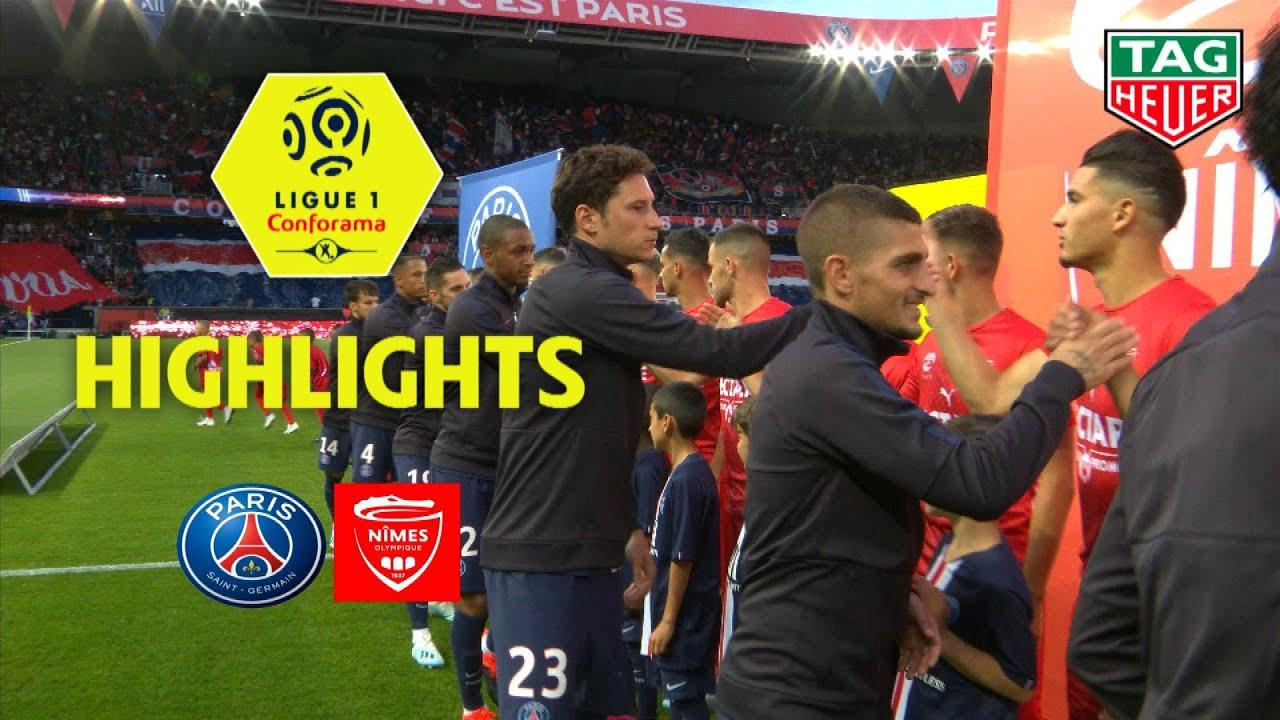 Paris Saint-Germain - Nîmes Olympique ( 3-0 ) - Highlights - (PARIS - NIMES) / 2019-20