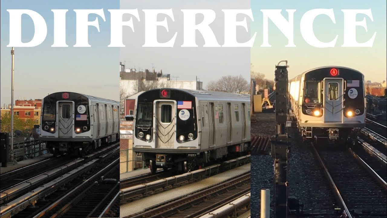 MTA Subway car differences: R143 vs R160 vs R179