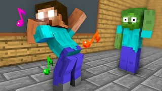 Monster School : Dancing Challenge - Minecraft Animation