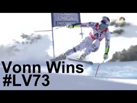 Lindsey Vonn Wins - Super G - Altenmarkt-Zauchensee
