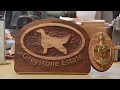 CNC Router Project - Sign - Irish Setter Door Knocker