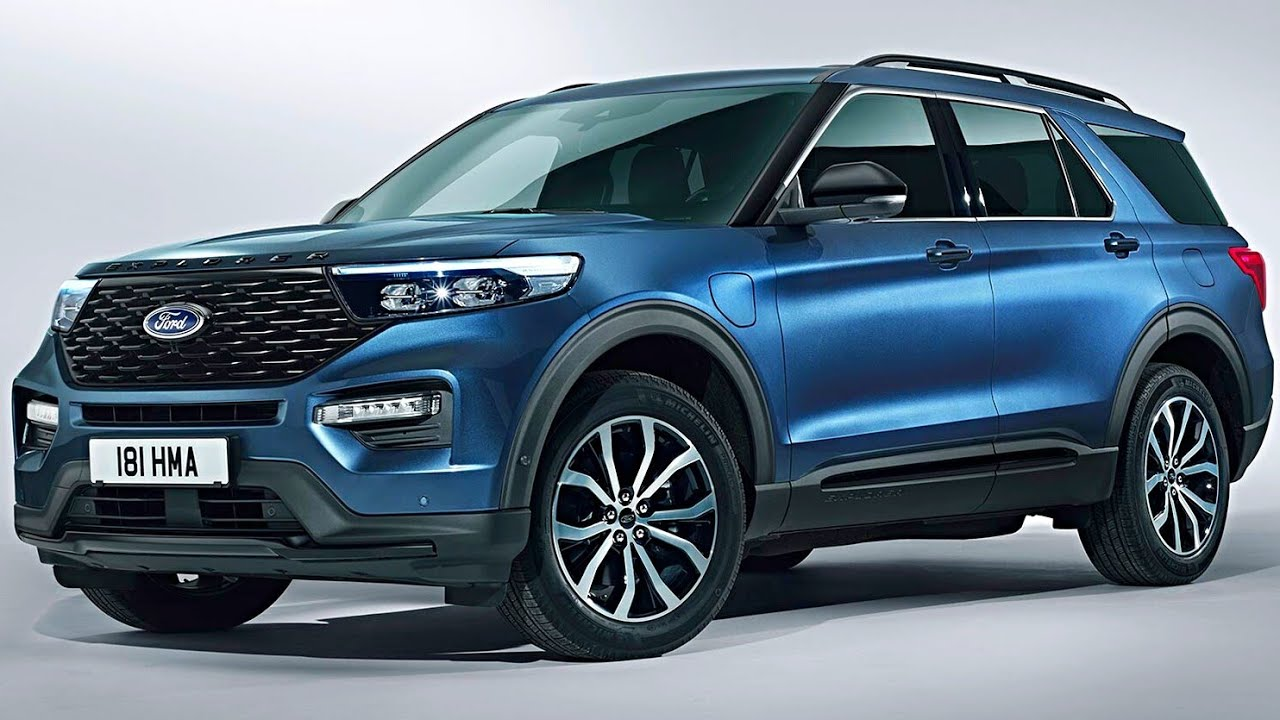 2020 Ford Explorer Plug In Hybrid Electric Vehicle 7 Seater Luxury Suv Ford Explorer 2020