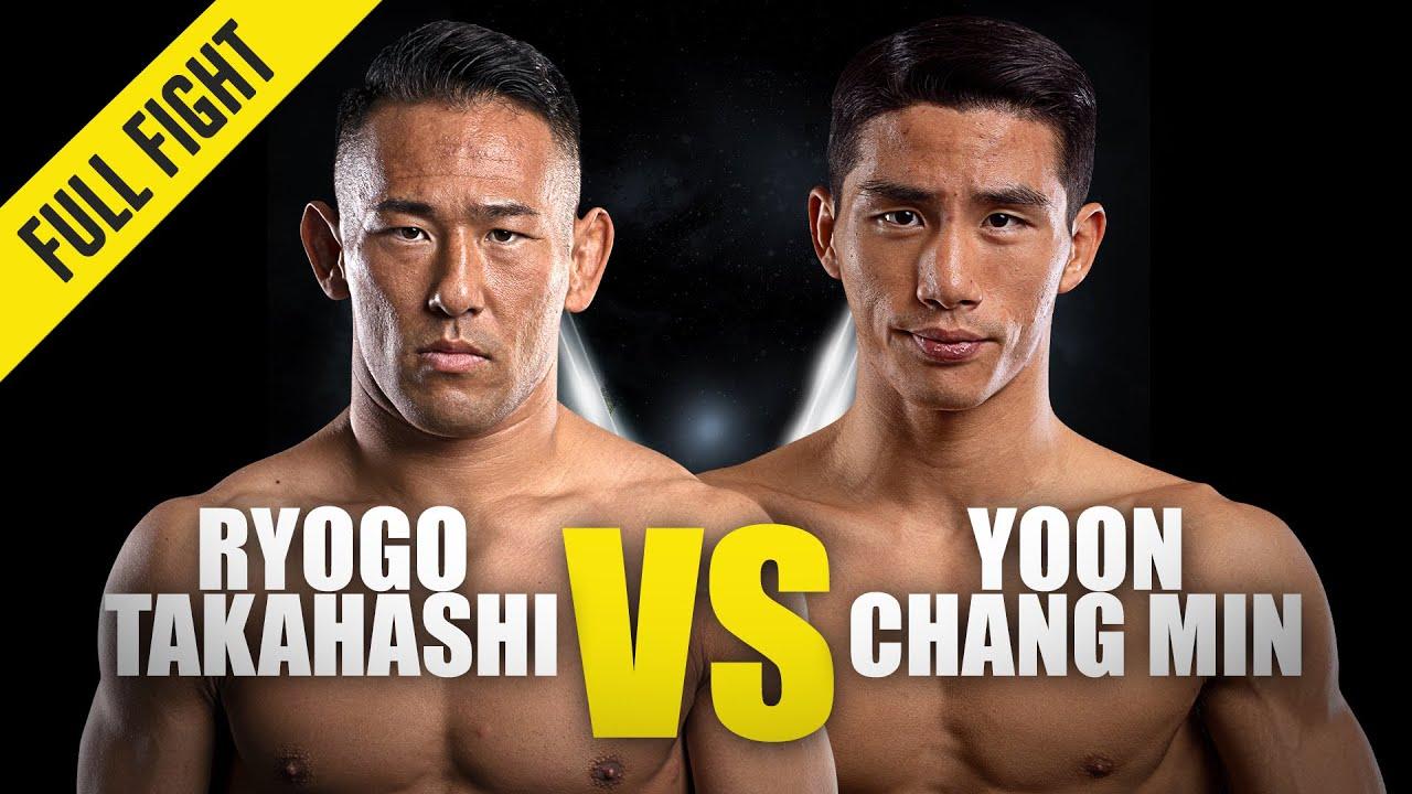 Ryogo Takahashi vs. Yoon Chang Min   ONE Championship Full Fight