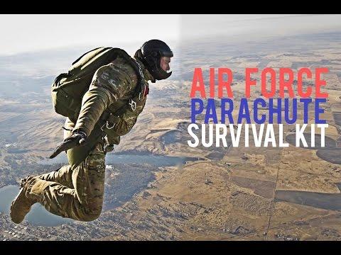 Air Force Parachute Survival Kit