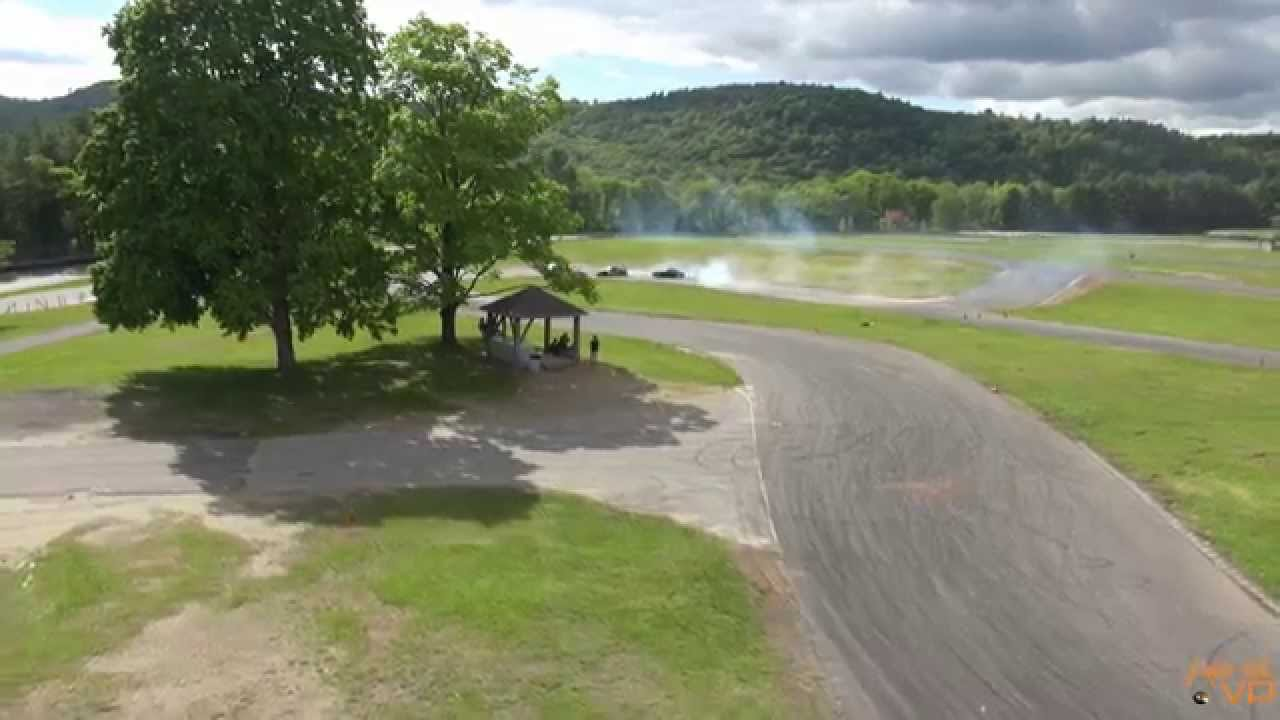 Aerial Video Ready Set Drift at Lime Rock Park CT - YouTube