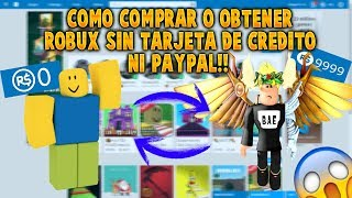 as a purchase or get ROBUX without credit card or PAYPAL | ROBLOX