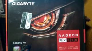 Прошивка и майнинг Gigabyte Gaming RX 570 4gb