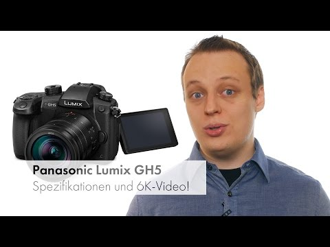 Foto-News: Panasonic Lumix GH5 - Spezifikationen, Verfügbarkeit und Preis [Deutsch]