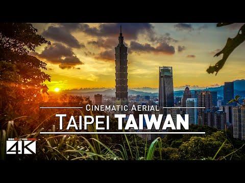 4K Drone Footage TAIPEI (Taiwan) [DJI Phantom 4]
