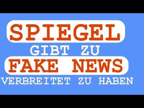 SPIEGEL gibt zu in großem Umfang FAKE NEWS verbreitet zu haben