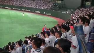 北海道日本ハム東京ドーム主催ゲーム 東京ドーム限定チャンステーマです...