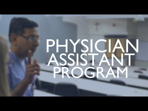 Physician Assistant Program Information Session