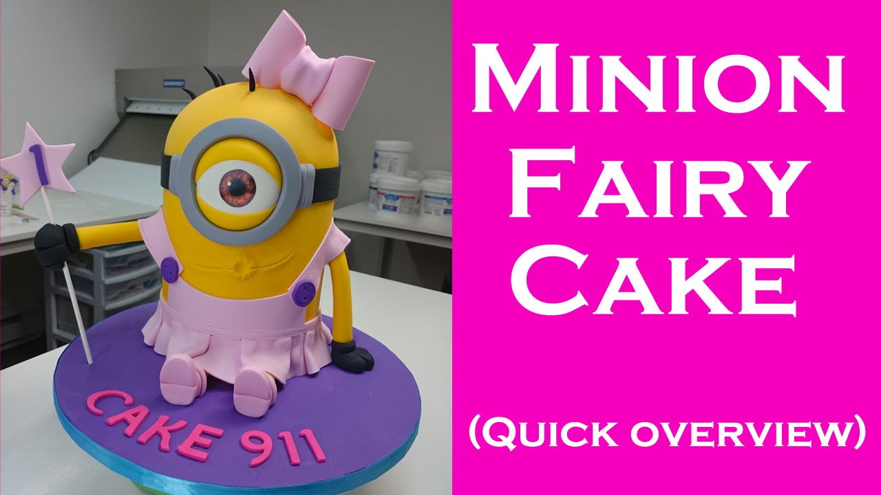 How To Make A Minion Fairyballerina Cake For Girls Quick Preview
