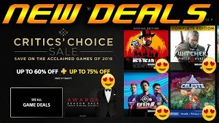 """NEW PS4 Discounts Triple A GAME $6.24 """"Critics Choice Sale"""" Up to 75% OFF PS+"""