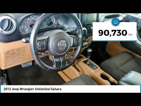 2012 Jeep Wrangler Unlimited 278774-A