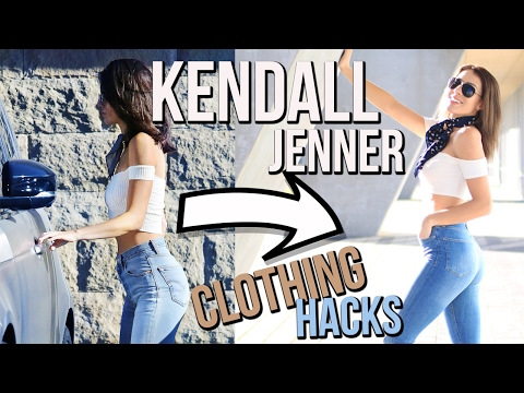KENDALL JENNER Clothing Hacks! Outfit Ideas & Dupes thumbnail