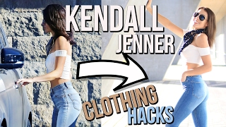 KENDALL JENNER Clothing Hacks! Outfit Ideas & Dupes
