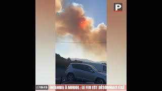 Incendie à Auriol : le feu est désormais fixé