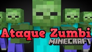 Minecraft Minigame - ATAQUE ZUMBI (The Blocking Dead)