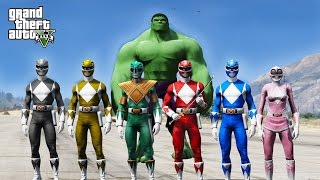 Video POWER RANGERS VS THE HULK !!! GTA 5 MODS download MP3, 3GP, MP4, WEBM, AVI, FLV Agustus 2018