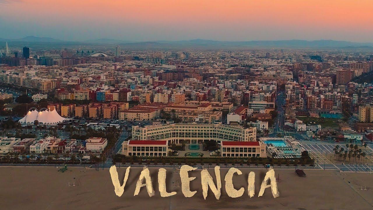 Valencia, Spain in 4K