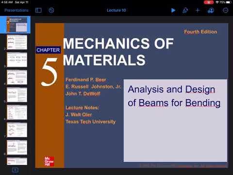 11st Week, Faculty Of Engineering, Mechanical Engineering Departments, SOM, Ch5 , Part 2