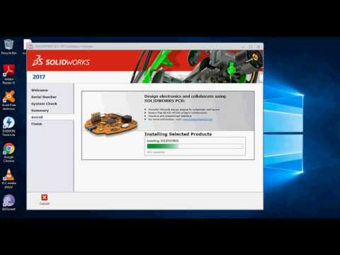 HOW TO DOWNLOAD AND INSTALL SOLIDWORKS 2017 100% working !! WIndows 10 ,7,8.1