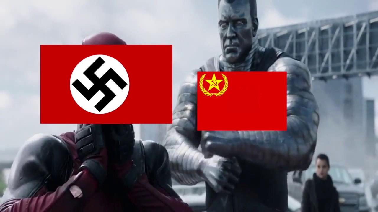 Deadpool WW2 Meme: Germany vs USSR - YouTube