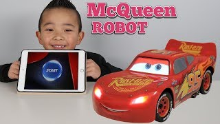 The Ultimate Disney Cars 3 Robot Lightning McQueen Toy Ckn Toys thumbnail
