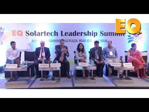 Rooftops Session at EQ Solartech Leadership Summit, New Delhi - Part 1