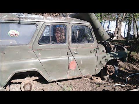 Самоизоляция  1 Мая 👍 ремонт УАЗа 469
