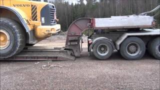 Volvo FH16 520 8x4 & Volvo L220E