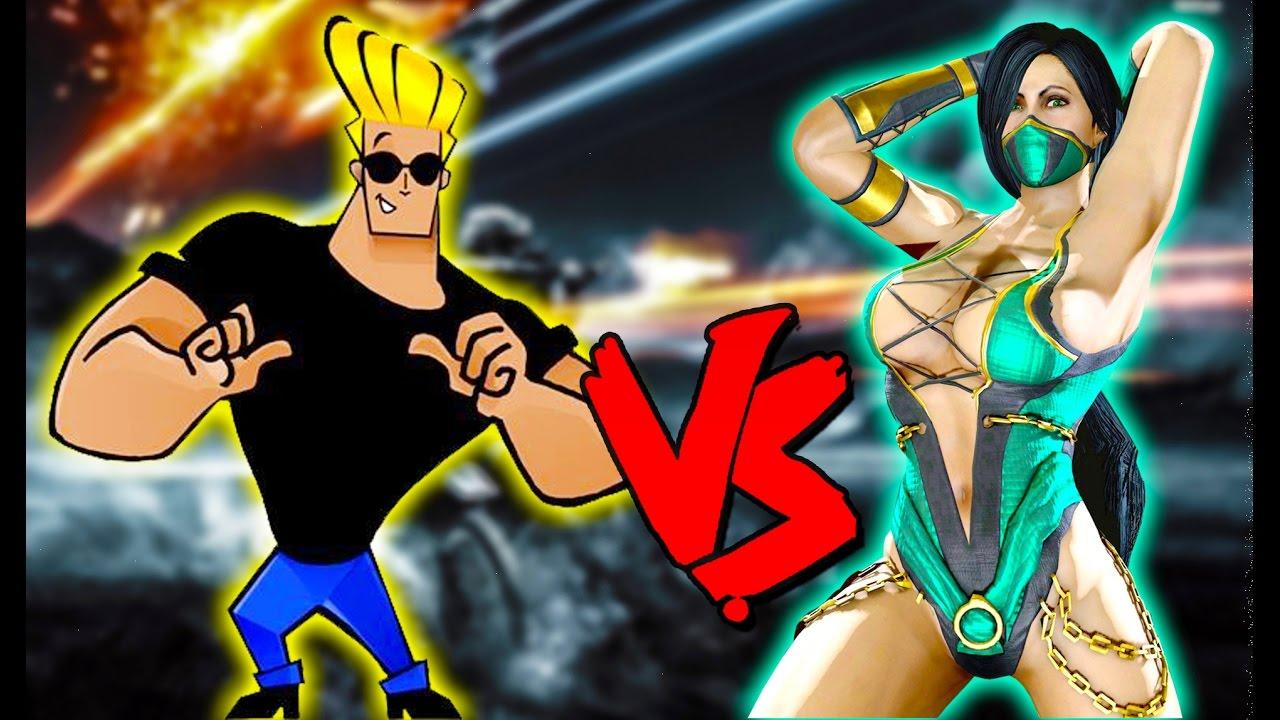 Jade Vs Johnny Bravo - Epic Battle - Mortal Kombat Costume ...